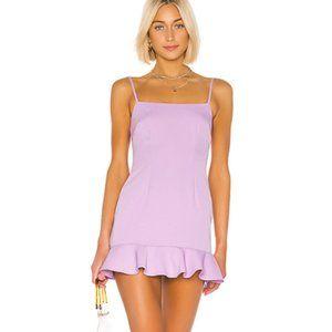 Mini Teddy Dress Lilac Purple